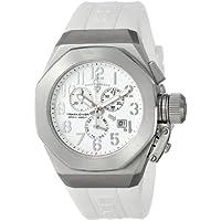 Swiss Legend Men's 10542-02-SA Trimix Diver Chronograph White Dial White Silicone Watch