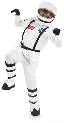Space Girl Costume Uk (Small White Children's Space Boy Costume)