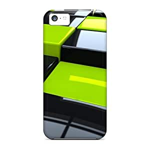 linJUN FENGHot Fashion SpO7966TyQY Design Cases Covers For ipod touch 5 Protective Cases (3d Cubes)