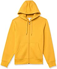 Amazon Essentials mens standard Full-Zip Hooded Sweatshirt
