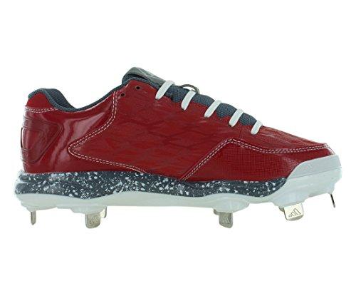 Adidas Prestaties Vrouwen Poweralley 2 W Softbal Klamp Universiteit Rood / Carbon Metallic / Wit