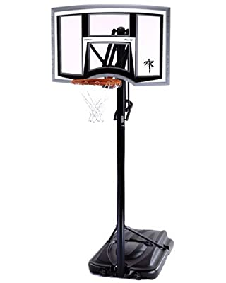 Reebok RBK 51457 XL Portable Basketball Hoop with 50in Shatter Guard Fusion Backboard
