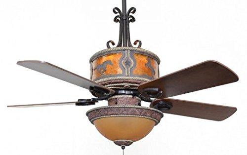 Sheridan Leather Ceiling Fan 60