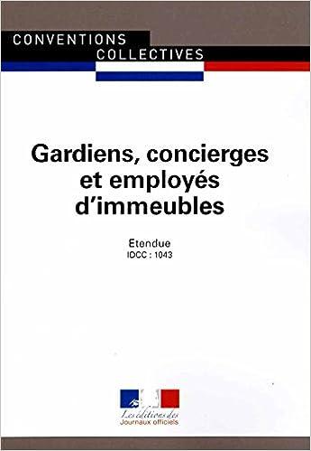 Amazon Fr Gardiens Concierges Et Employes D Immeubles