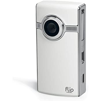 Flip UltraHD Video Camera - White, 8 GB, 2 Hours (2nd Generation)