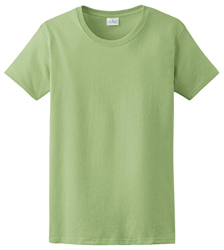 Gildan Ultra Cotton Ladies' T-Shirt, Pistachio, XX-Large
