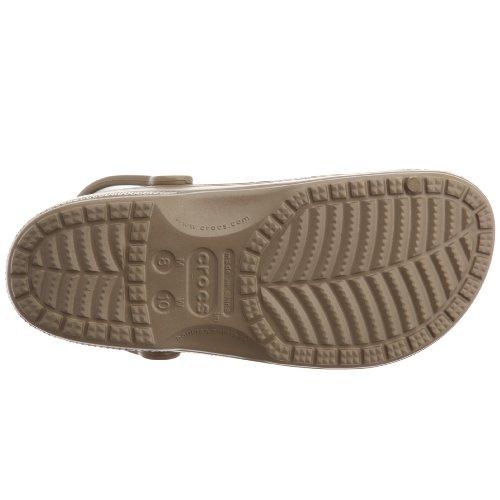 Crocs Sabots Baya Mixte Pour Adulte Marron/vert kaki