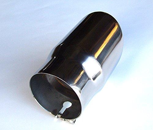 A1 /Ø 86mm ENDROHR ENDROHREN BLENDEN AUSPUFF AUSPUFFBLENDE Edelstahl Chrom