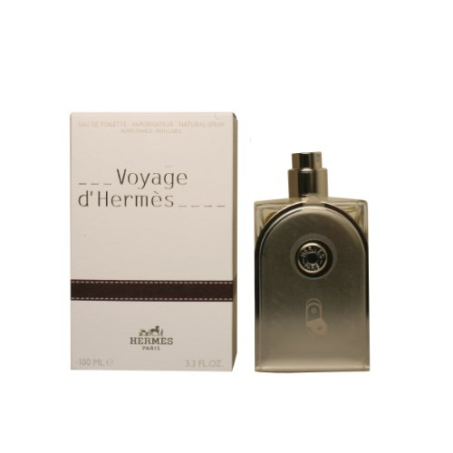 (Hermes Voyage D'Hermes Eau-de-toilette Refillable Spray for Unisex, 3.30-Ounce)