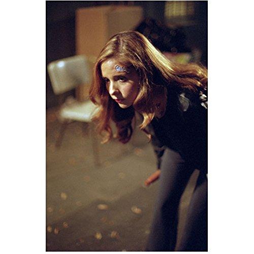 Buffy the Vampire Slayer 8x10 Photo Sarah Michelle Gellar Ducking Bandage on Forehead -