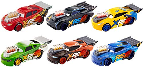 Disney Pixar Cars XRS Drag Racing Singles Series (1 18 Scale Diecast Drag Racing Cars)