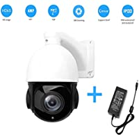 Globin Ptz Ip Camera H.264/H.265 Onvif 4 Megapixels Ir 80M Ip66 Full 1080P Pan Tilt 18X Optical Zoom For Outdoor and Indoor Cctv Camera
