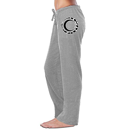 Kite Clipart - MZONE Geek Clipart Ouroboros And Moon Running Pants For Women Ash Size XL