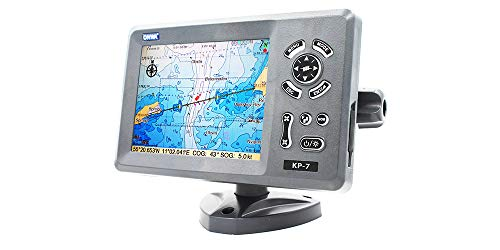 ONWA KP-7: 7-inch GPS Chart Plotter with Internal GPS Antenna