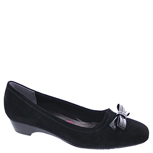 Ros Hommerson Tulane Women's Casual Shoe: Black/Suede 10 Wide (D) Slip-On