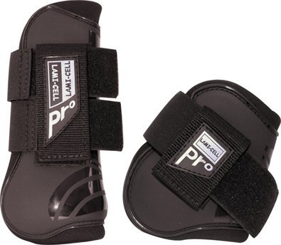 Lami-Cell Pro Tendon and Fetlock Boots - Black - Horse