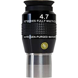 Explore Scientific Extreme Wide Field 82° Series, 4.7mm Waterproof Eyepiece, 1.25\
