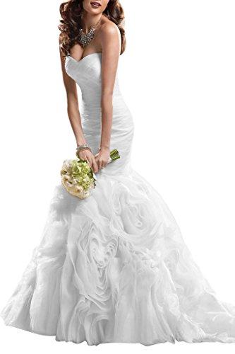 TOSKANA BRAUT -  Vestito  - Astuccio - Donna bianco 34