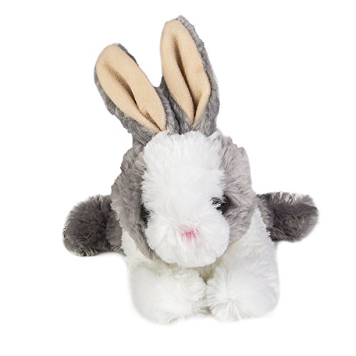 [Aurora Wold Plush Mini Flopsie Baby Bunny Grey 8