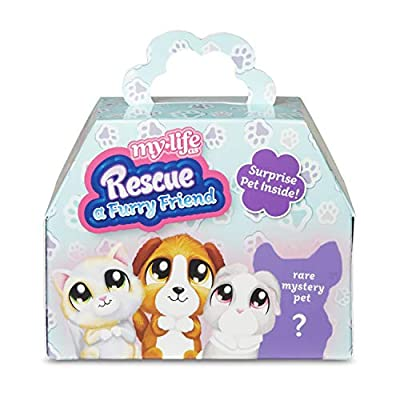 My Life As... Rescue a Furry Friend Playset - Surprise Pet Inside!: Toys & Games
