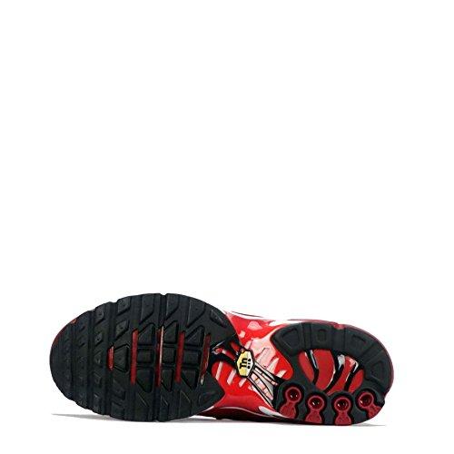 Nike Air Max Plus Tn1 Tuned - Zapatillas de malla para niña Tough Red/Black/Chile Red 39 EU