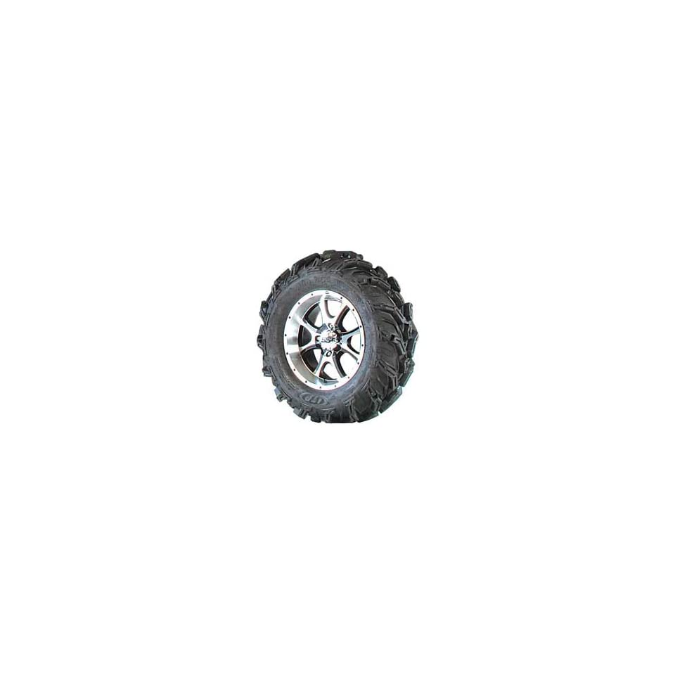 ITP Mud Lite XTR SS108 Black Alloy 27in.x14in. Right Front Tire/Wheel Kit* Black Alloy 41436R