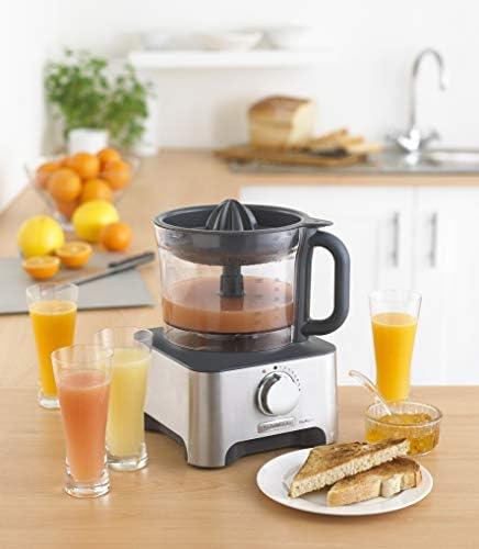 Kenwood MultiproClassic - Procesador de alimentos familiar, 1000 W, 3 litros, velocidad variable, color metal: Amazon.es: Hogar