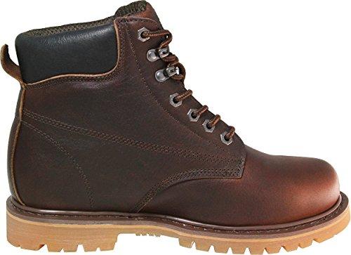 ... Kaktus Menns 6 625 Mørk Brun Arbeid Boot ...