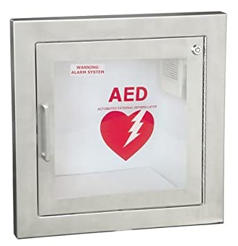 Amazon.com: semi-recessed Acero Inoxidable AED clóset de ...