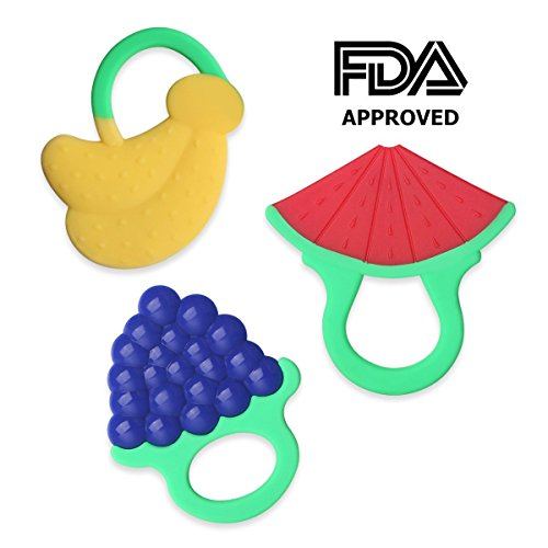 Teething Chewable Silicone Teethers Watermelon
