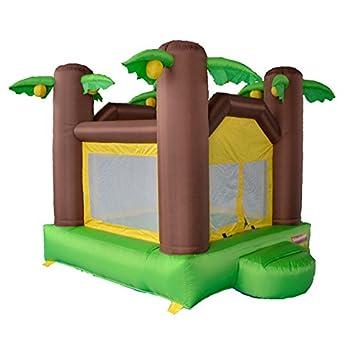 Salto Feliz Mini Castillo Hinchable Mini tropicoco: Amazon ...