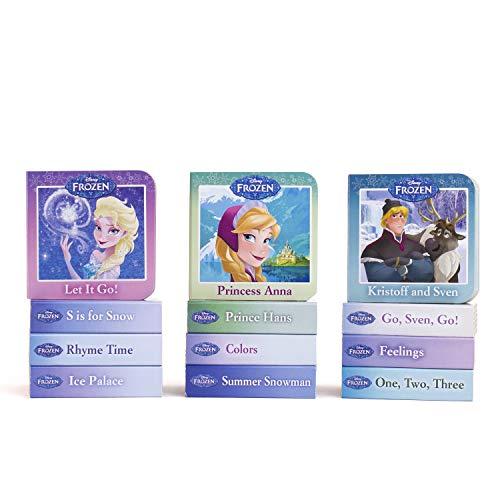 Disney Frozen - My First Library Board Book Block 12-Book Set - PI Kids