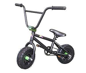 kobe mini bmx bike black green sports. Black Bedroom Furniture Sets. Home Design Ideas