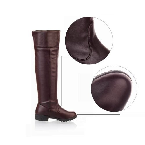 [10 Größe Yes all two Farbes] cosplay Attack on Titan Scouting Legion long Stiefel schuhe of my [braun   braun] [25.5cm   41   cafe] (japan import)