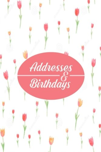 Addresses And Birthdays  Mini At A Glance Address Log Book For Contacts With Addresses Phone Numbers Emails And Birthday. Alphabetical A Z Organizer ... 4 X6  Paperback  Mini Address Books Band 89