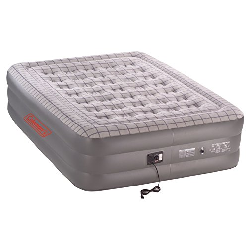 Coleman Premium Double High SupportRest Airbed w/Built in Pump, Queen (Coleman Inflatable Bed compare prices)