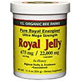 Y S Eco Bee Farms Royal Jelly in Honey 675 mg 11 5 oz 326 g