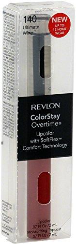 Revlon ColorStay Overtime Liquid Lip Color, Ultimate Wine [140] 0.07 oz (Pack of 2)