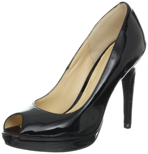 Cole Haan Women's Chelsea OT High Pump,Black Patent,11 B US