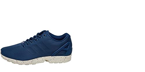 8897ea293e43 Image Unavailable. Image not available for. Colour  adidas Originals Mens  ZX Flux Trainers Tech Steel Utility Blue Chalk White