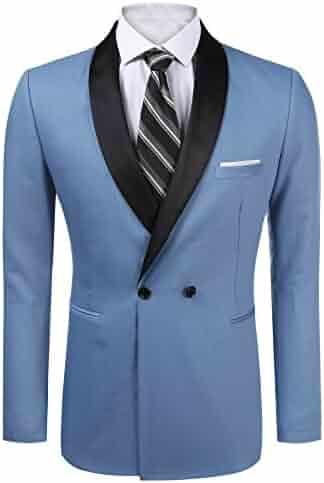 623e881a37 COOFANDY Men's Paisley Floral Party Dress Suit Stylish Dinner Jacket  Wedding Blazer Prom Tuxedo