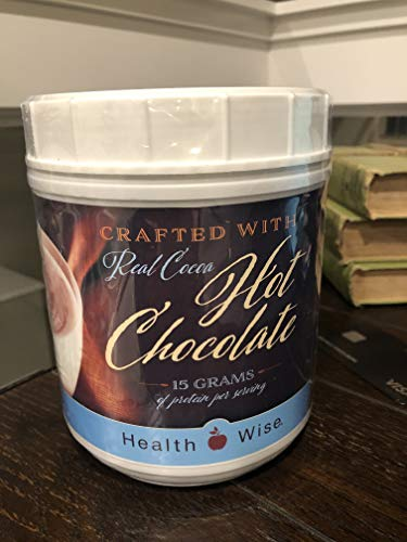 Healthwise Hot Chocolate Canister - Ideal Protein Alternative - 28 Servings