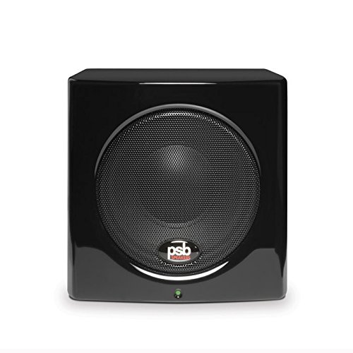 (PSB SubSeries 100 GLSB Compact Powered Subwoofer Gloss Black)