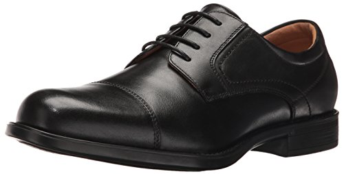 Toe Men's Oxford Medfield Cap Shoe Florsheim Black Dress pqwtxfZR