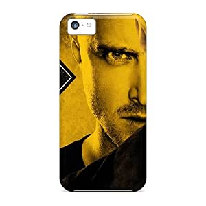 Iphone 5c Case Cover - Slim Fit Tpu Protector Shock Absorbent Case (breaking Bad 1)