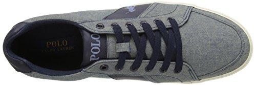 Polo Ralph Lauren Mens Hugh-sk-vl Fashion Sneaker Blu