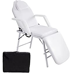 "Giantex73"" Portable Tattoo Parlor Spa Salon Facial Bed Beauty Massage Table Chair"
