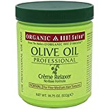 Organic Root Stimulator Olive Oil Professional Creme Relaxer, Normal Strength, 18.75 Ounce