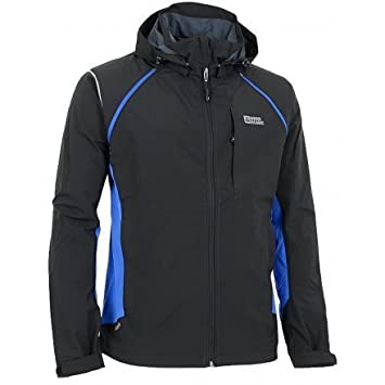 free shipping 1973b d7505 Nord Blanc Effective Blue Men's Softshell Jacket Black/Blue ...