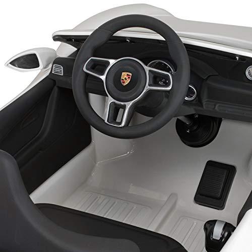 MINICARS Coche eléctrico Infantil Porsche 911 132 cm 6V Blanco: Amazon.es: Juguetes y juegos